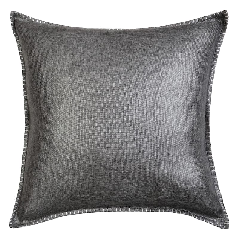 22IN GREY CHANNING WHIPSTITCH