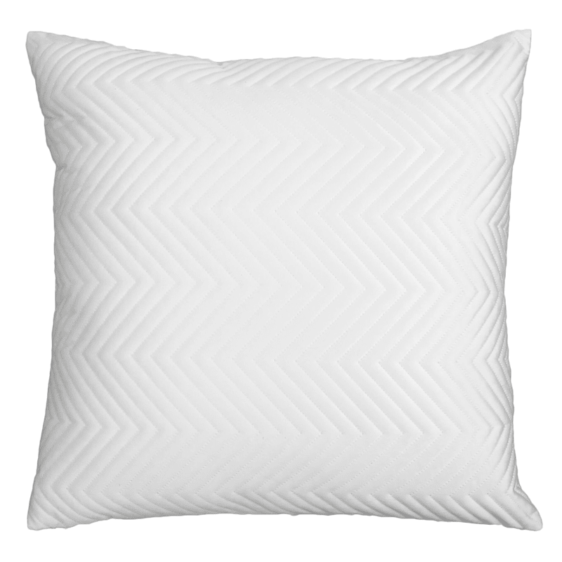 22IN IVORY IVY VELVET PILLOW