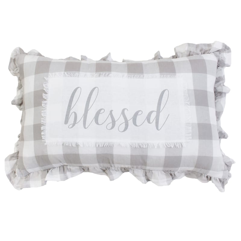 JILLY BLESSED PLAID 16X26