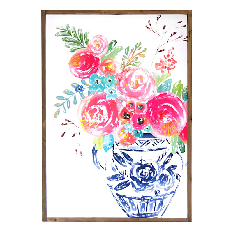 "Grace Mitchell Wood Canvas Print Framed Wall Art, 23"" x 32"""