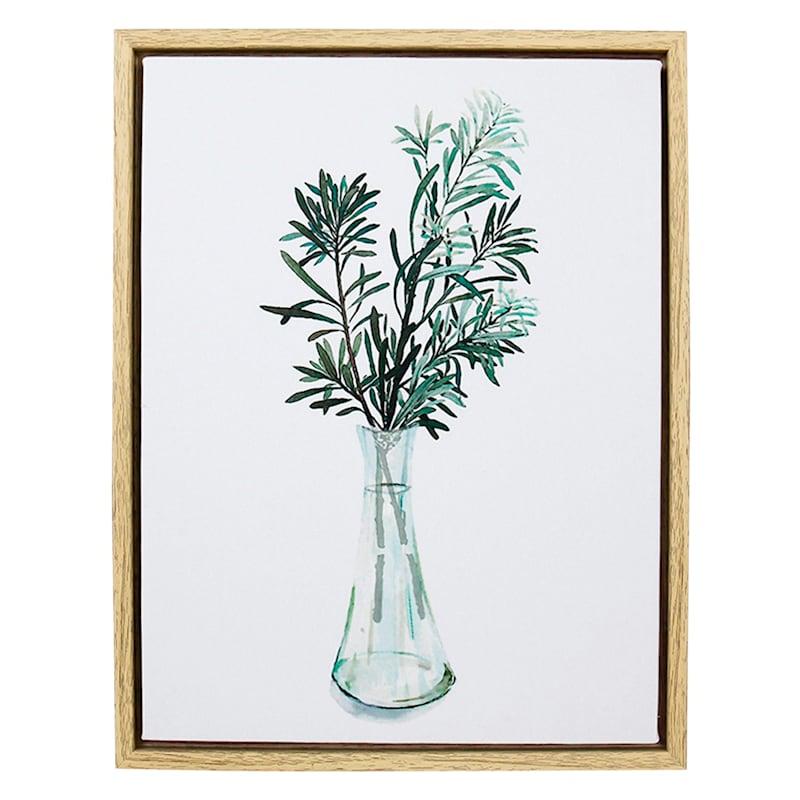 9X12 Wood Canvas Print Framed Wall Art
