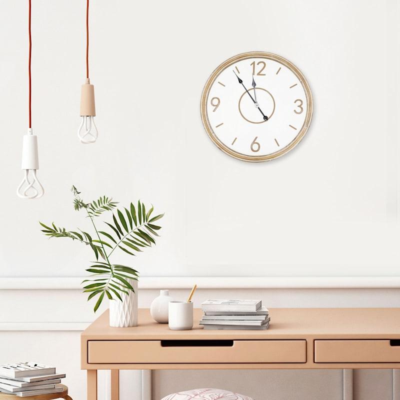 24in. Wall Clock