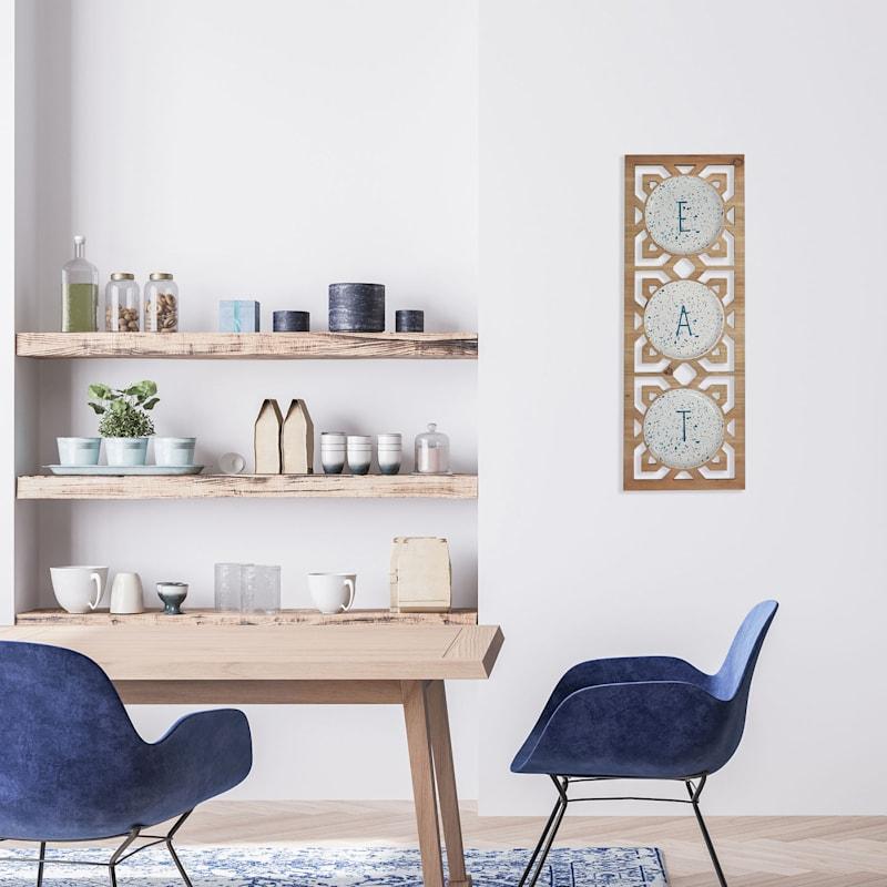 33X12 Eat Kitchen Wall Decor