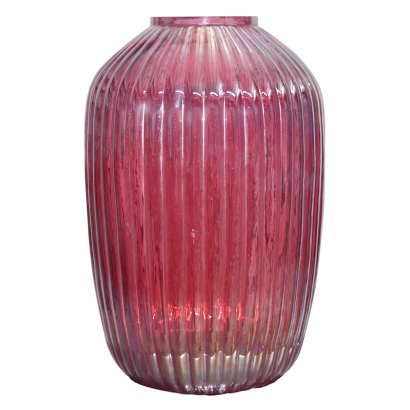 Tracey Boyd Pink Glass Vase
