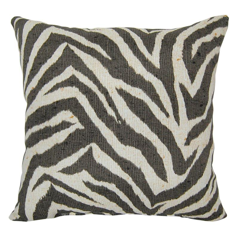 Outdoor Pillow - Zebra Print