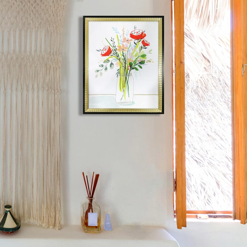 18X22 Spring Clean I Framed/Glass Art