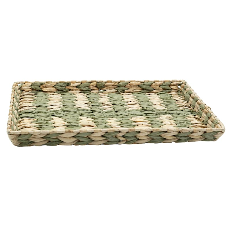 Grass Tray Green Strip 15X12
