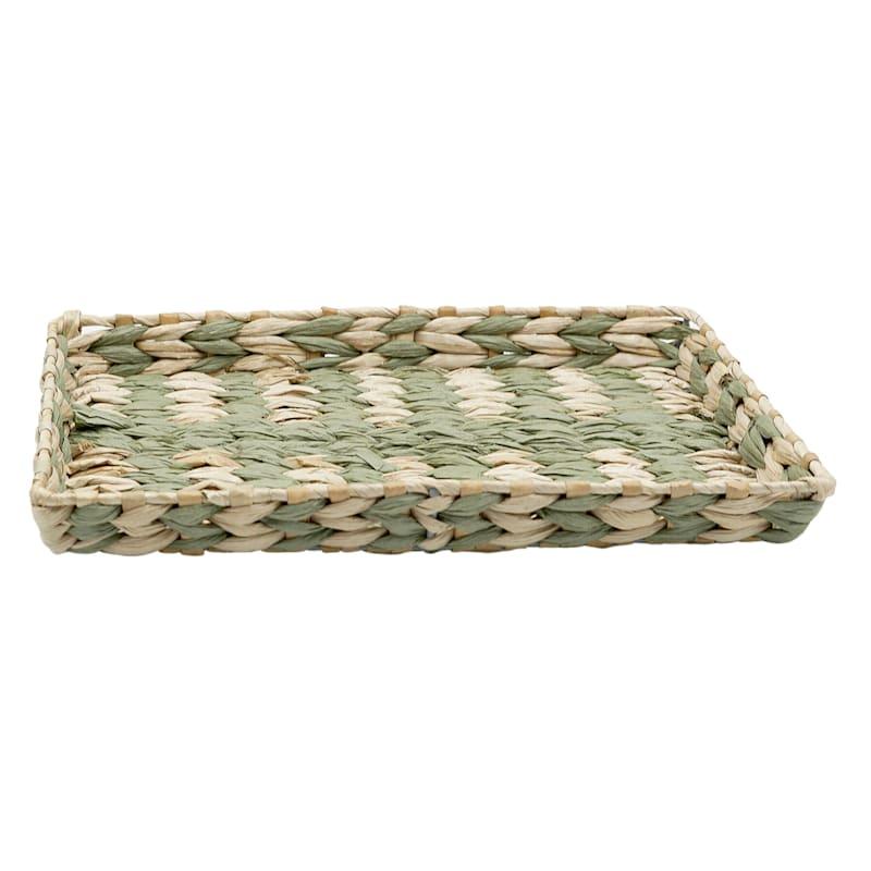Grass Tray Green Strip 14X10