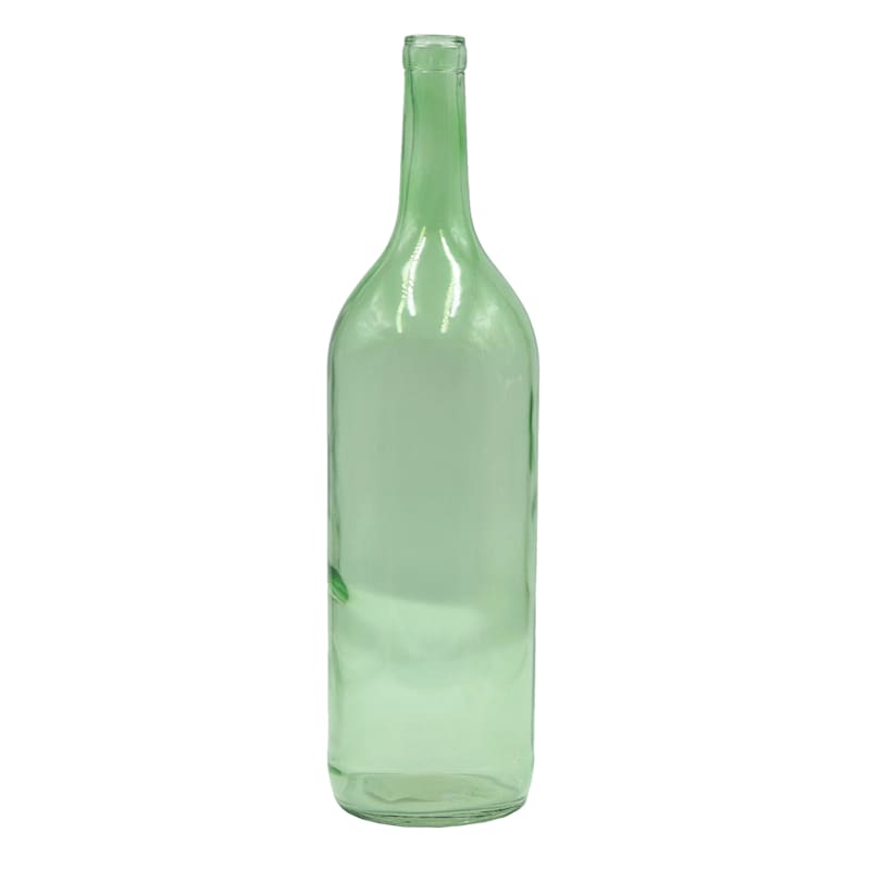 4X14 Glass Bottle Recycle Green