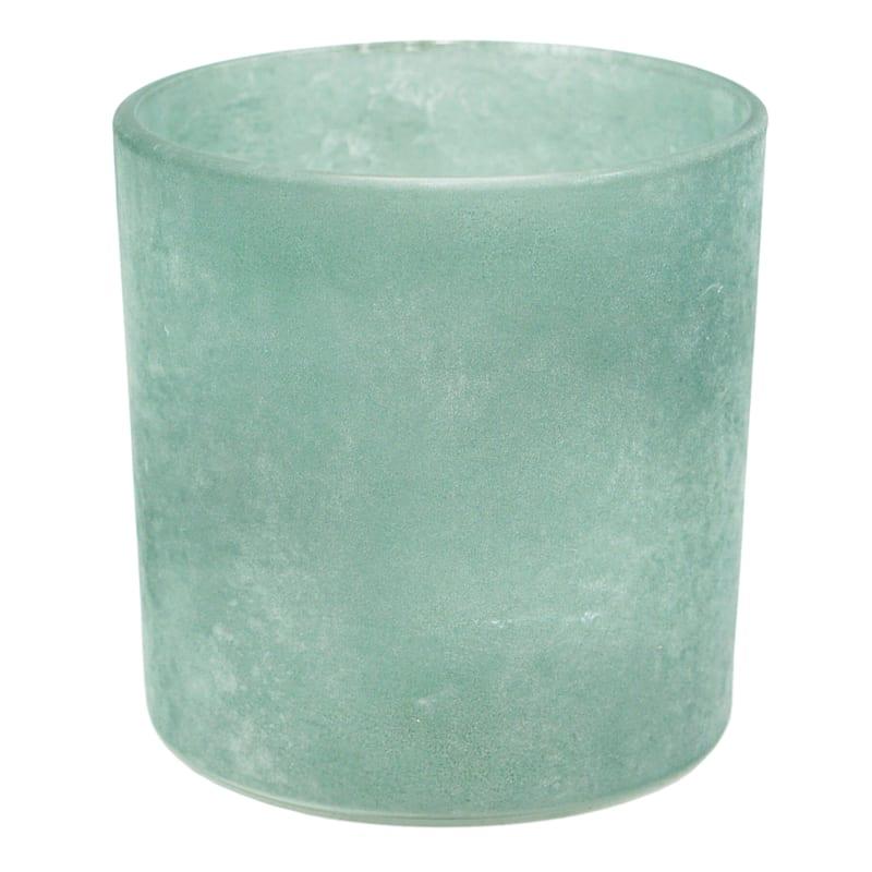 Cylinder Frosted Glass Votive Holder 3X3