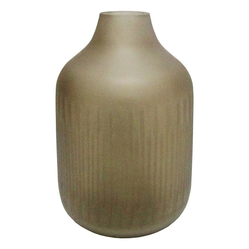 Tracey Boyd Tybd 9in. Brown Etched Ribbed Base