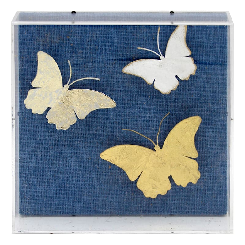 Grace Mitchell 8in. Butterfly Shadow Box