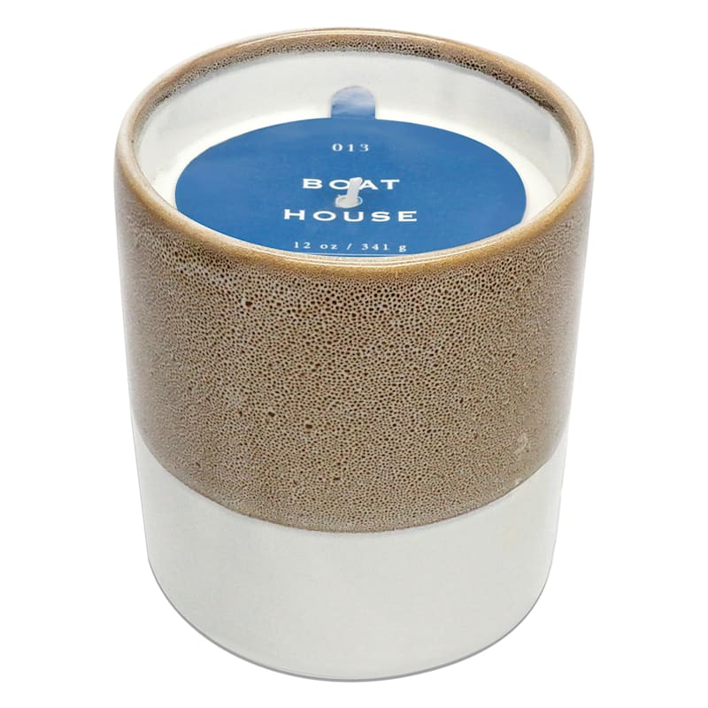 Boat House 12oz Layer Ceramic Candle