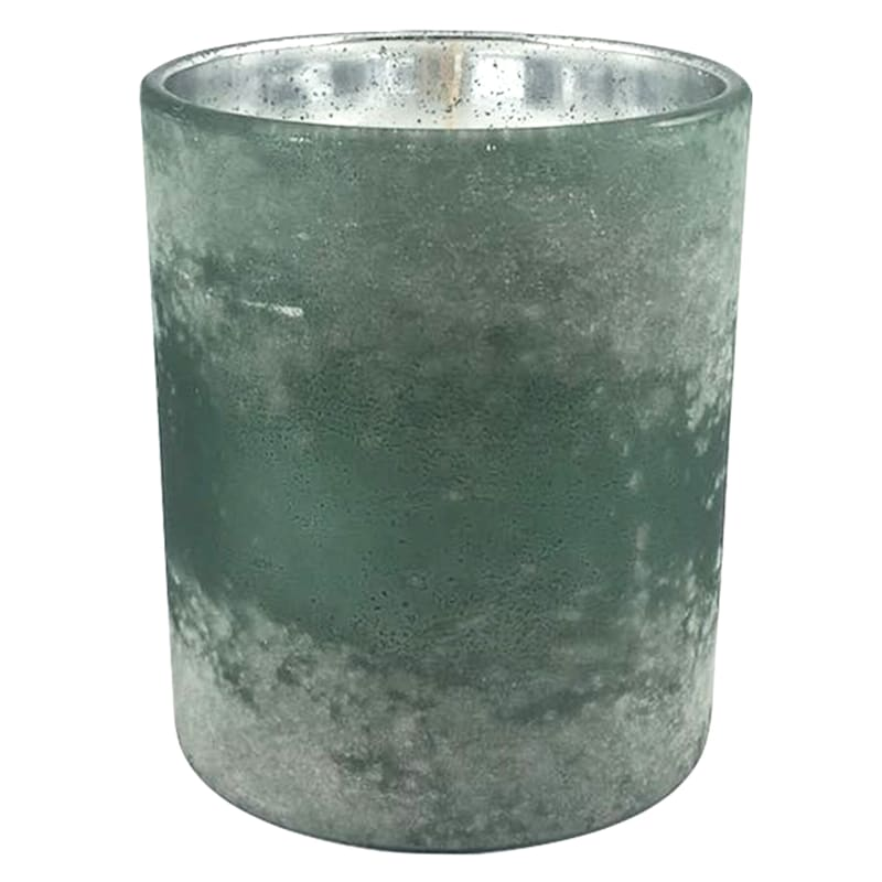 10oz Sea Salt And Lavender Powdered Glass Candle
