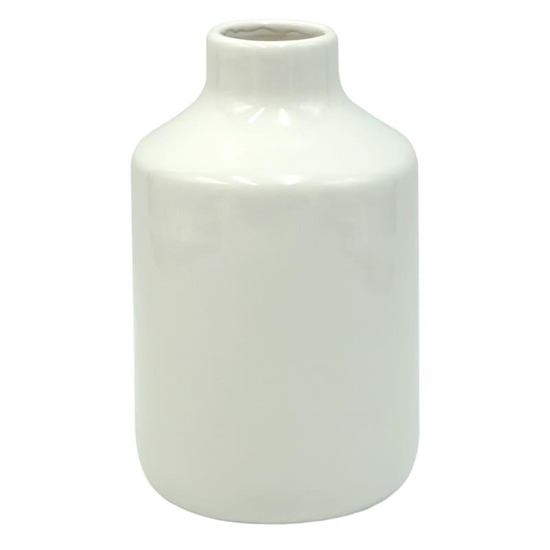 Tracey Boyd 4in. Ceramic White Vase