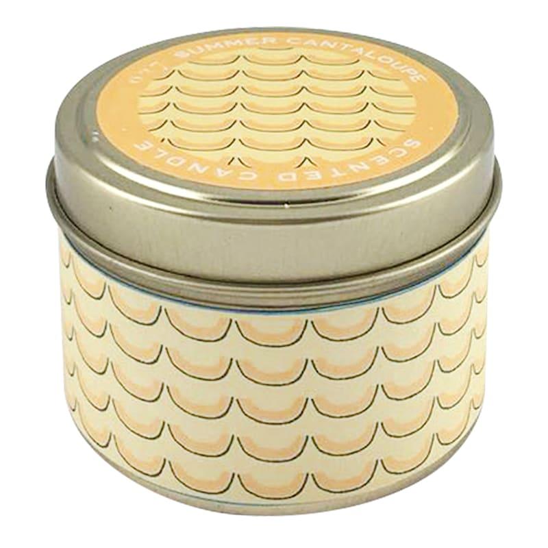 3oz Summer Cantaloupe Candle Tin