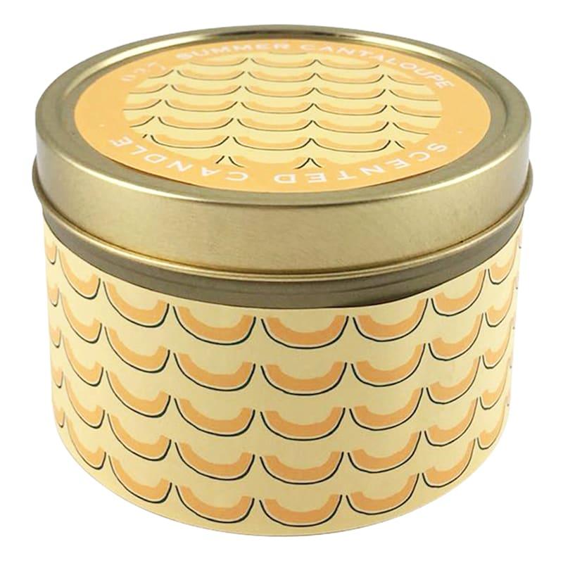 9oz Summer Cantaloupe Candle Tin