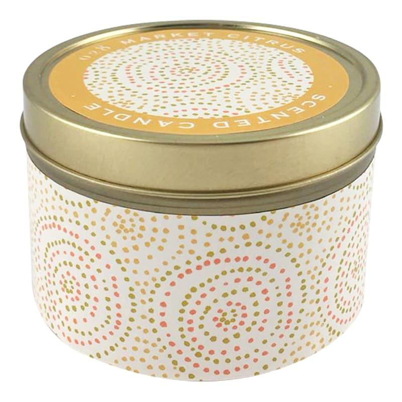 9oz Market Citrus Candle Tin