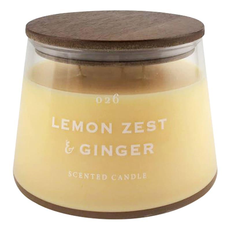 17.7oz Lemon Zest And Ginger Jar Candle