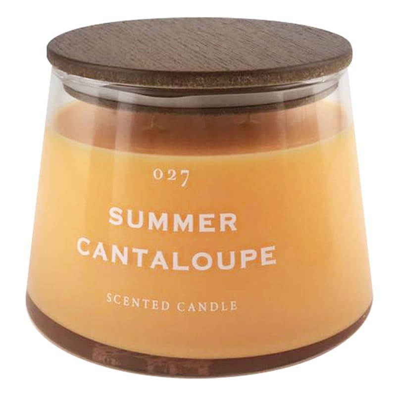17.7oz Summer Cantaloupe Jar Candle