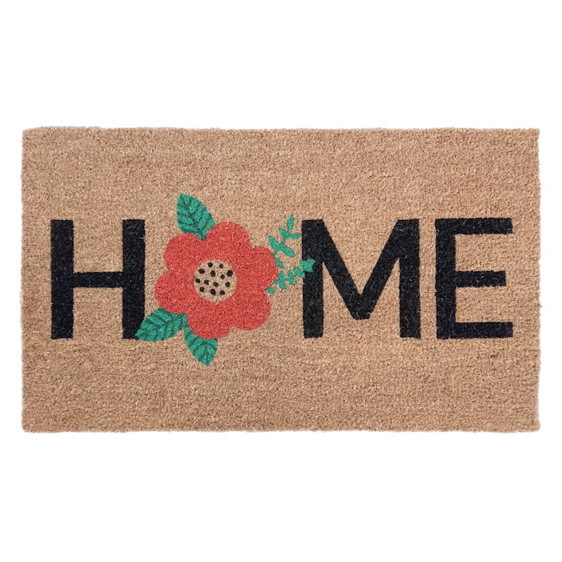 Home Orchid Red Coir 18 X 30