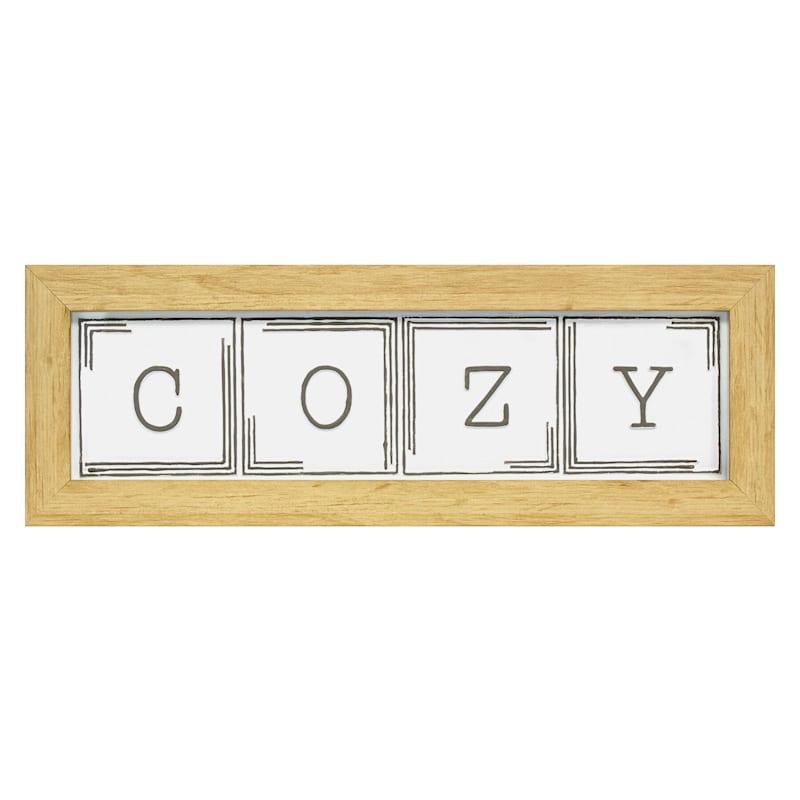 5.5X20 Cozy Pac Framed Art Under Glass