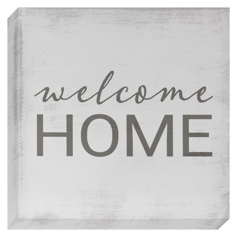 Welcome Home Canvas Wall Art