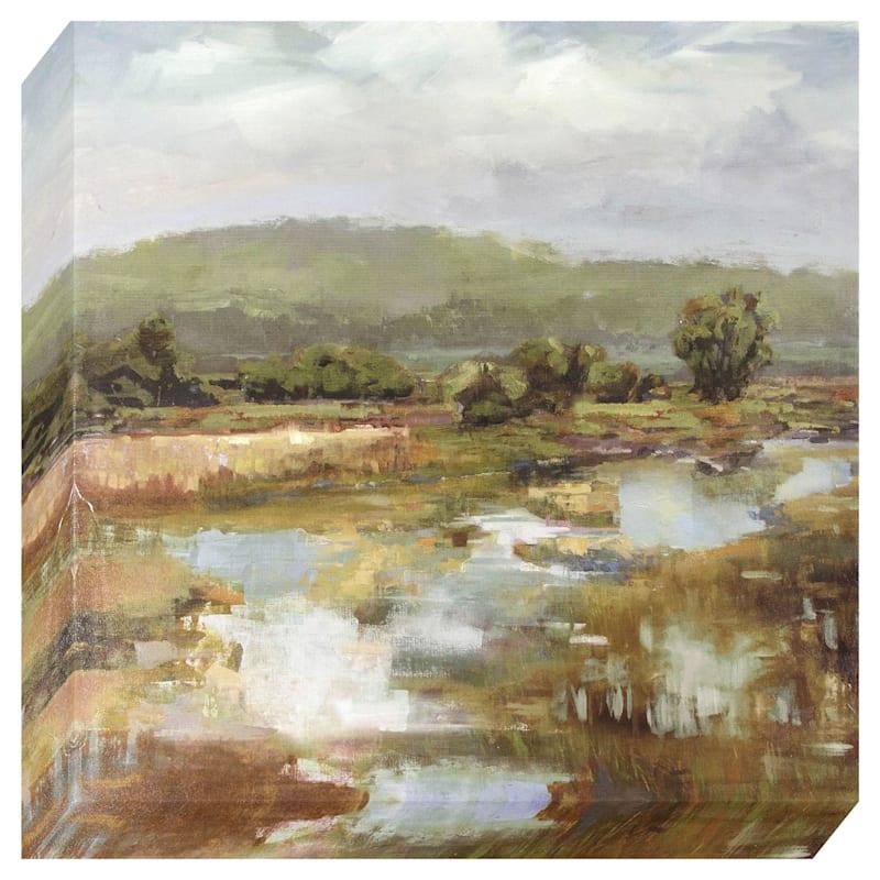 Mire Landscape Canvas Wall Art
