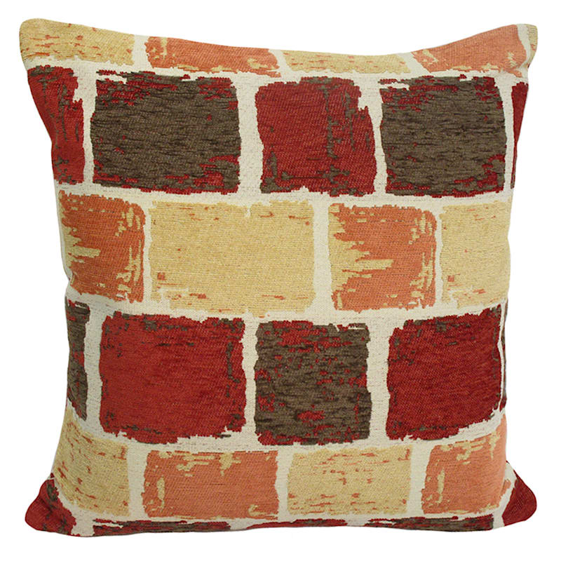 18in. Baxter Spice Throw Pillow