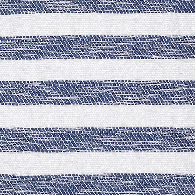 BLUE WHITE WOVEN STRIPE 18 TAS