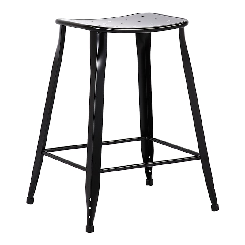24IN BLACK COUNTER STOOL