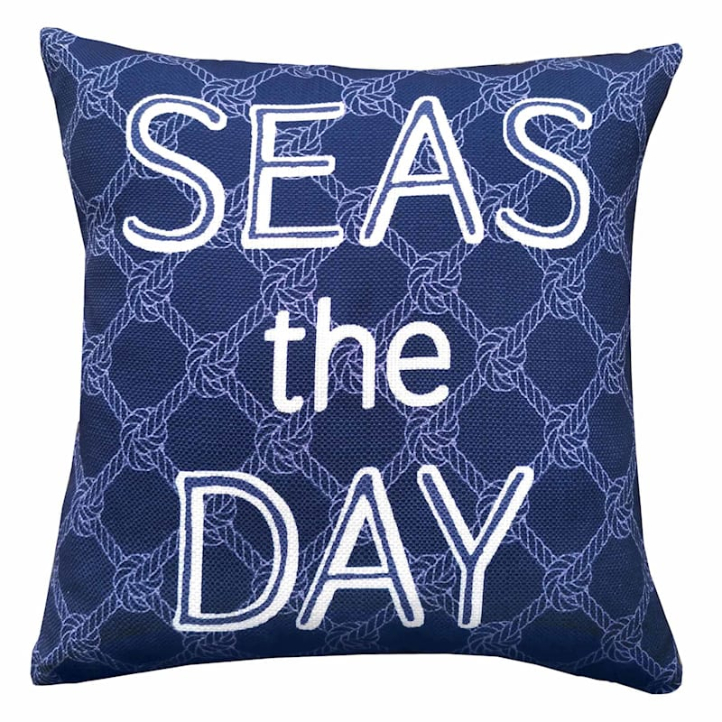 SEAS OF THE DAY KNOT PILLOW