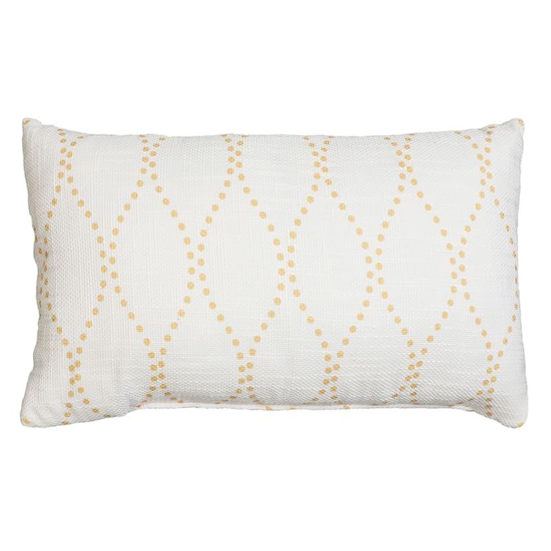Deena Throw Pillow, Yellow