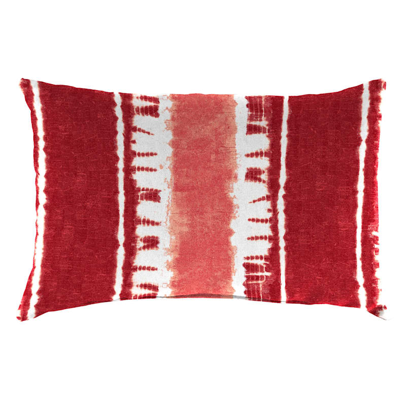 Sheila Lumbar Pillow, Red