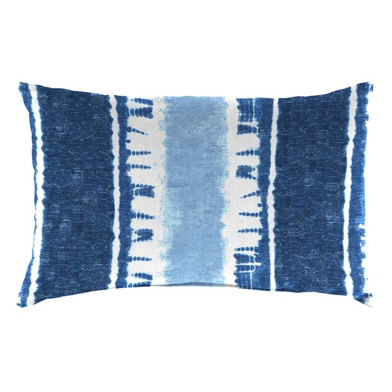 Sheila Lumbar Pillow, Navy Blue