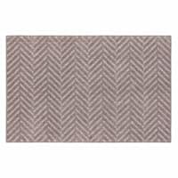 Twillville Chevron Grey Rug, 2x4
