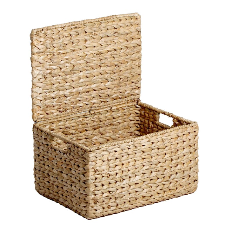 Lamp Covered Basket
