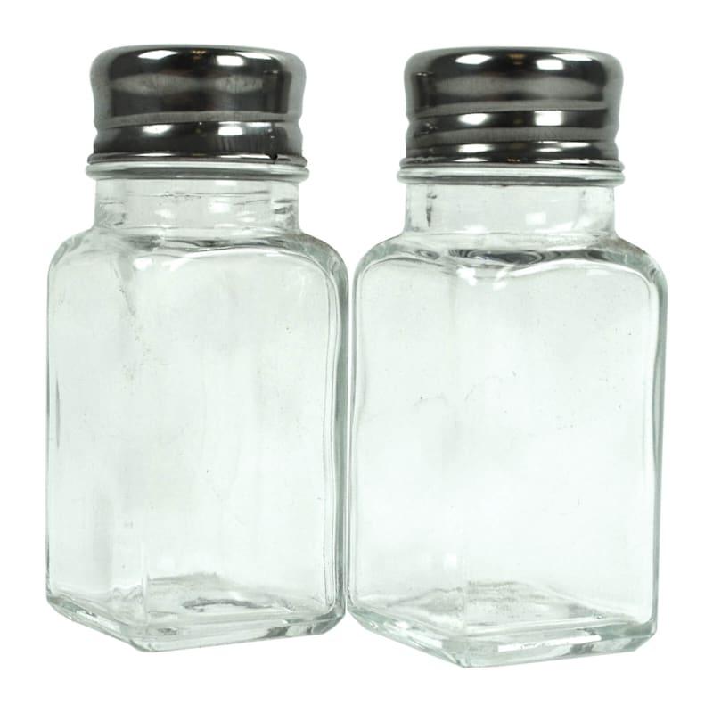 2-Piece Glass Salt/Pepper Shaker Set