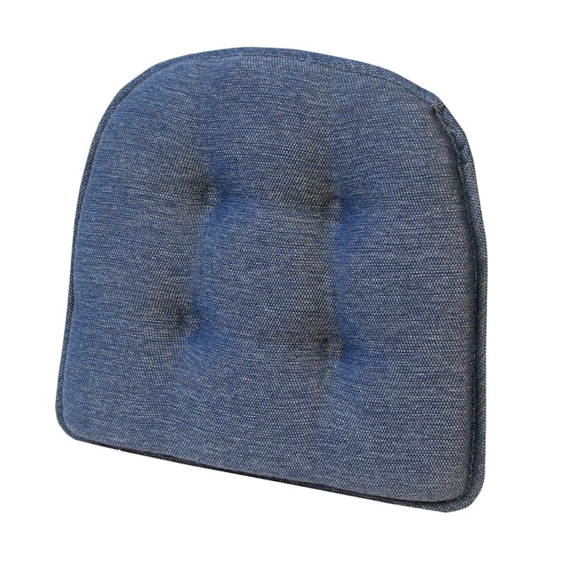 Embrace Blue Gripper Chair Pad/Non Skid Material