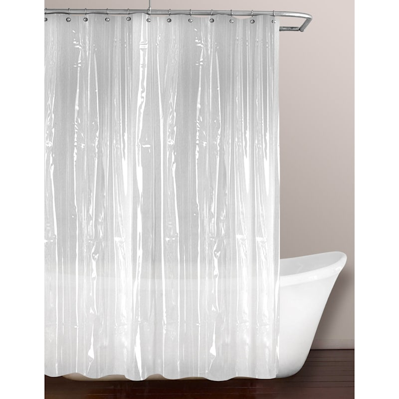 Frosty Clear PVC Heavyweight Shower Liner 70X72