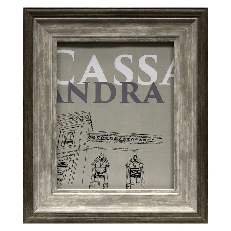 8X10 Brown/Taupe Tabletop Frame