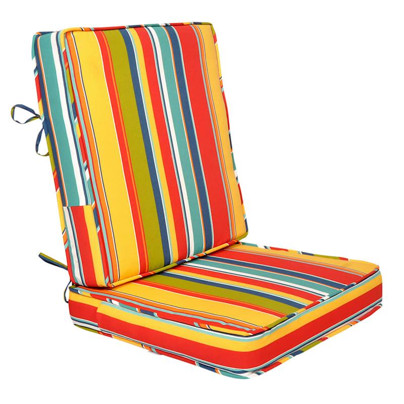 Macrae Garden Outdoor Deep Seat 2-Piece Cushion