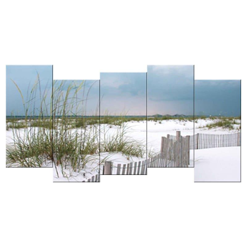 24X12 Beach Stagger Canvas