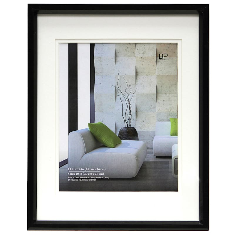 11X14 Black Wall Frame