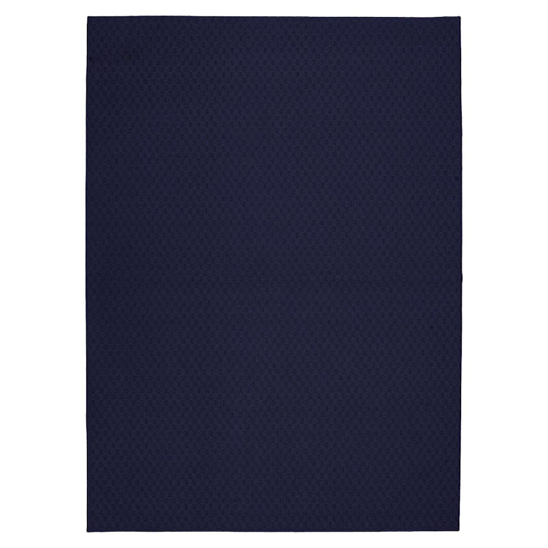 (D314) Town Square Area Rug Navy, 5x7