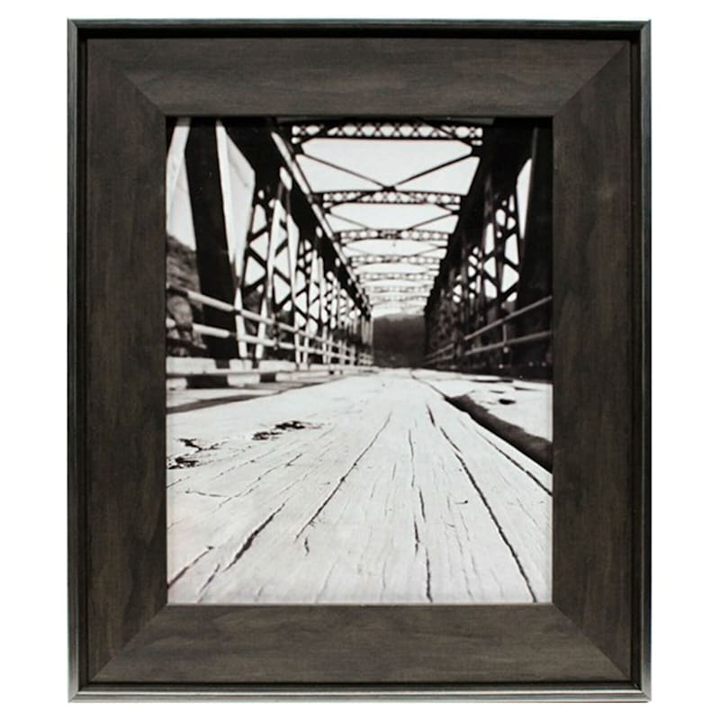 8X10 Black/Brown Tabletop Frame