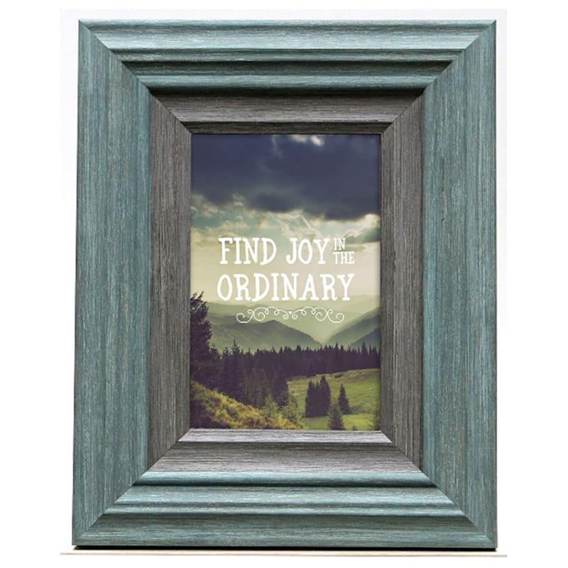 4X6 Miranda Light Turquoise Tabletop Frame