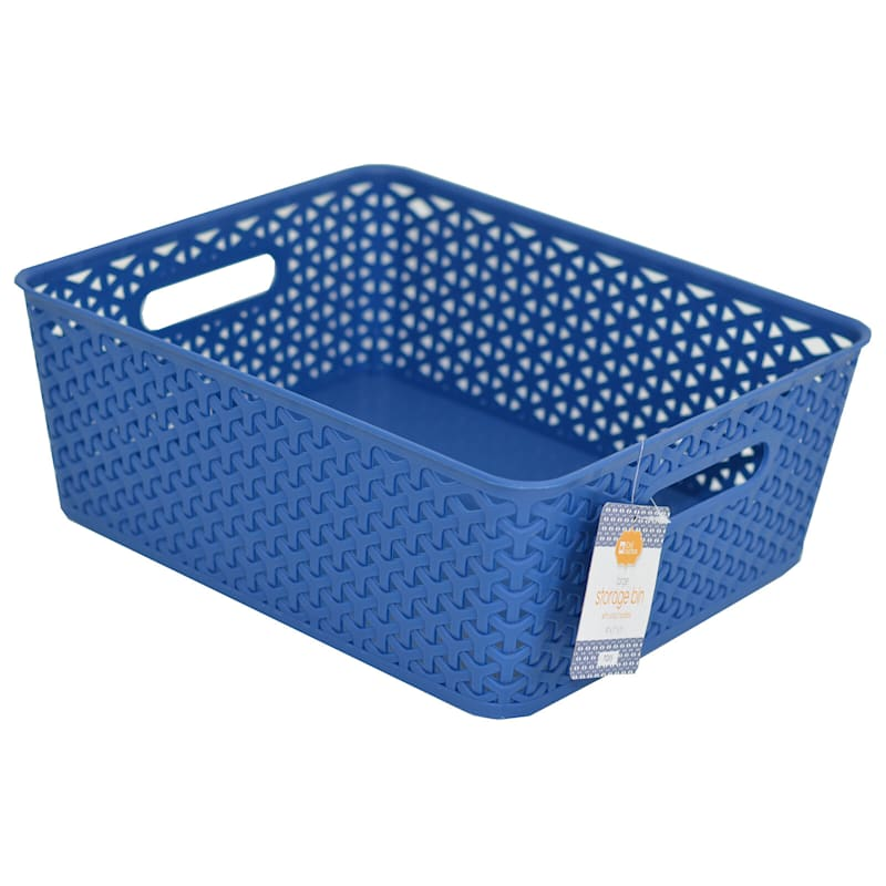 14X11 Navy Basket