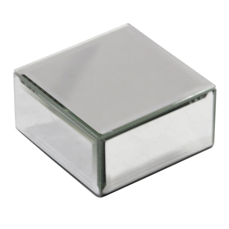 4X2 Silver Mirror Riser