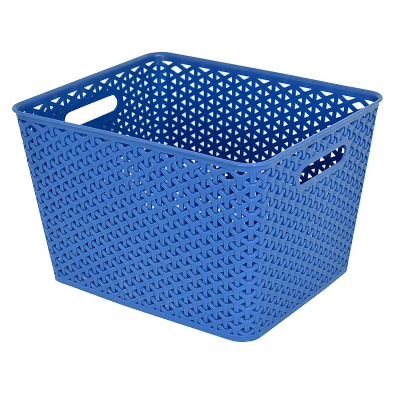 13.75X11 Basket Navy